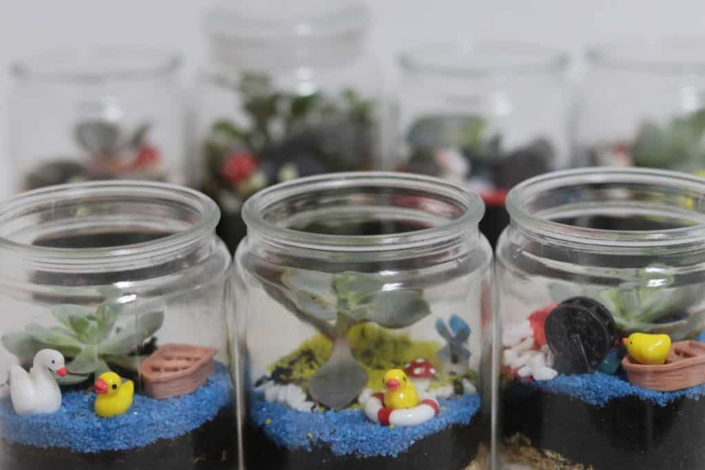 Terrarium Workshop Singapore Client